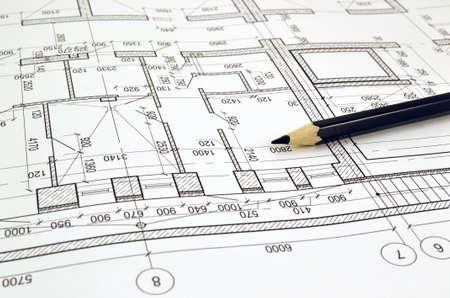 蓝图板建筑业务计算摄影图片__123rf图片库