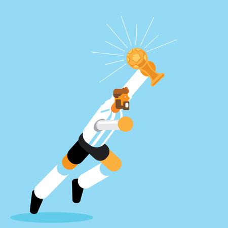 阿根廷冠军蓝色结局漫画摄影图片__123RF图徽章尾随漫画图片